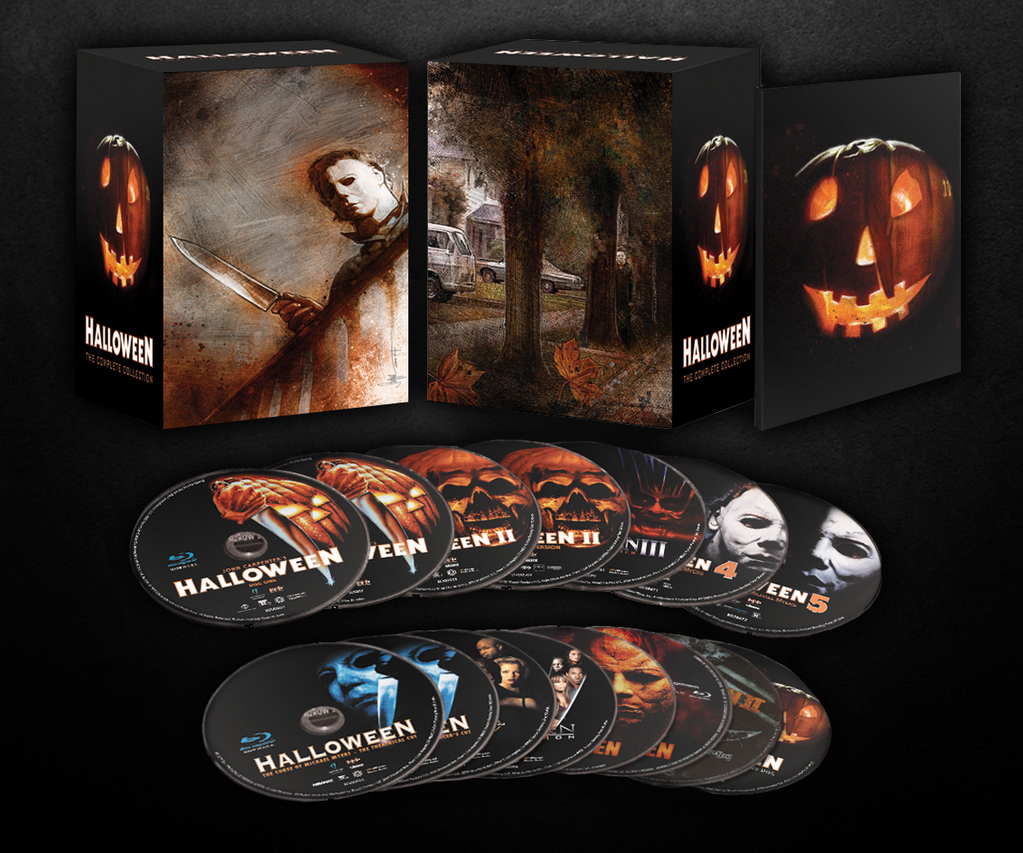 halloween the complete collection blu ray haunted. Black Bedroom Furniture Sets. Home Design Ideas