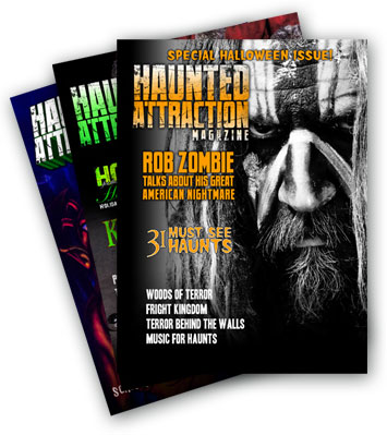 New Issue 62 of Haunted Attraction Magazine